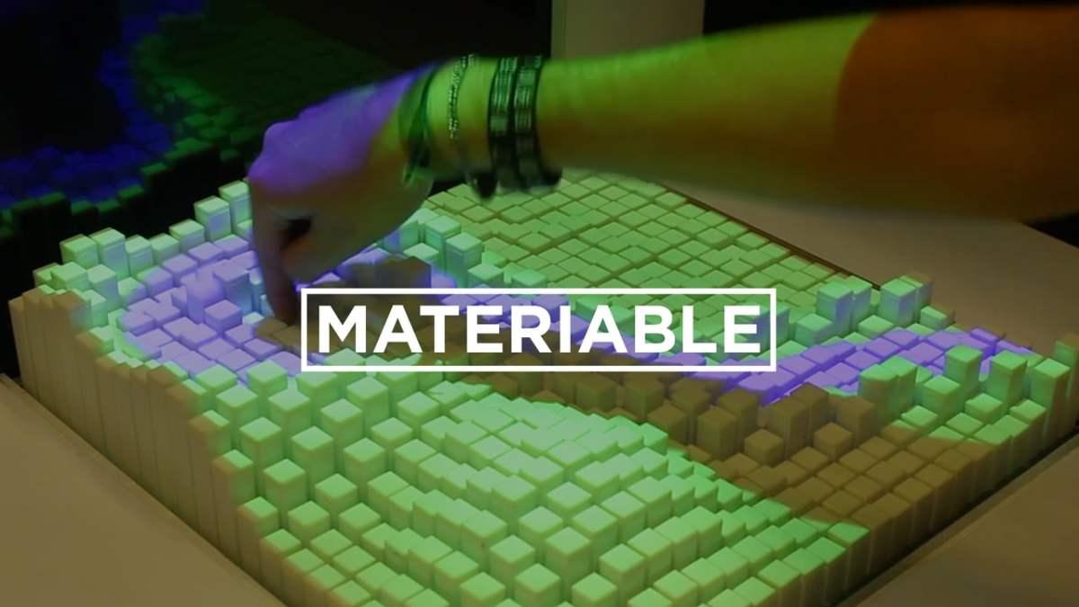 El Grupo de Medios #Tangibles del #MIT lleva a cabo un estudio #Materiable usando Interfaces de Cambio de Forma